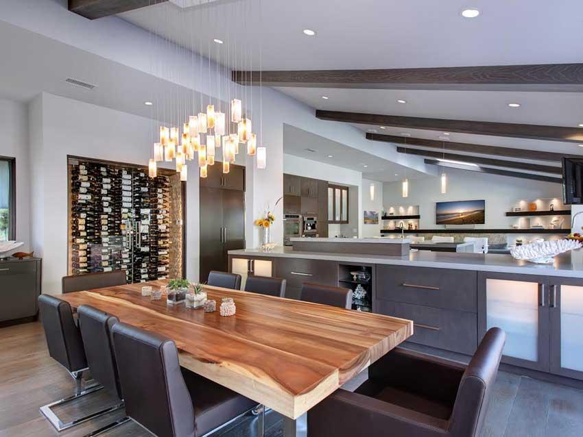 Mid Century Modern Real Estate Interior Design By Studio Furnishings Laguna Beach
