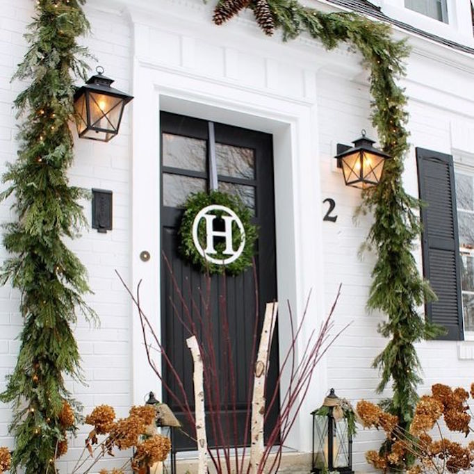 3 BECKI-OWENS-Monogram-Christmas-Stoop-Ideas