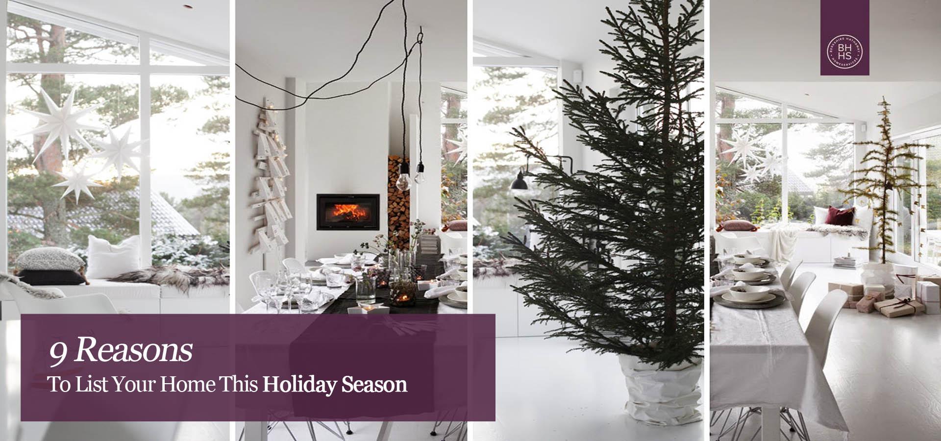 List Your Home This Holiday Season