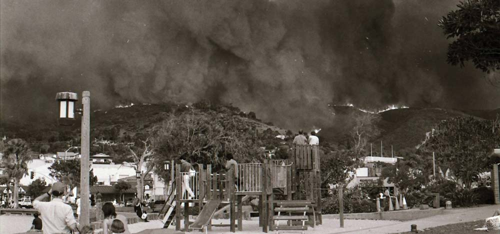Laguna Beach Main Beach Park 10-27-93 By Douglas Miller