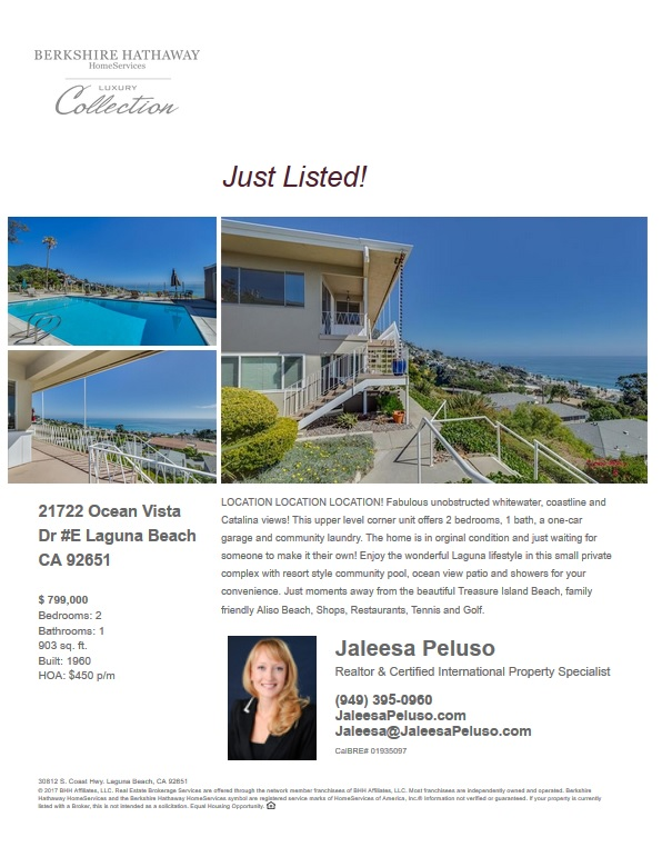 condos for sale in laguna beach ocean vista drive